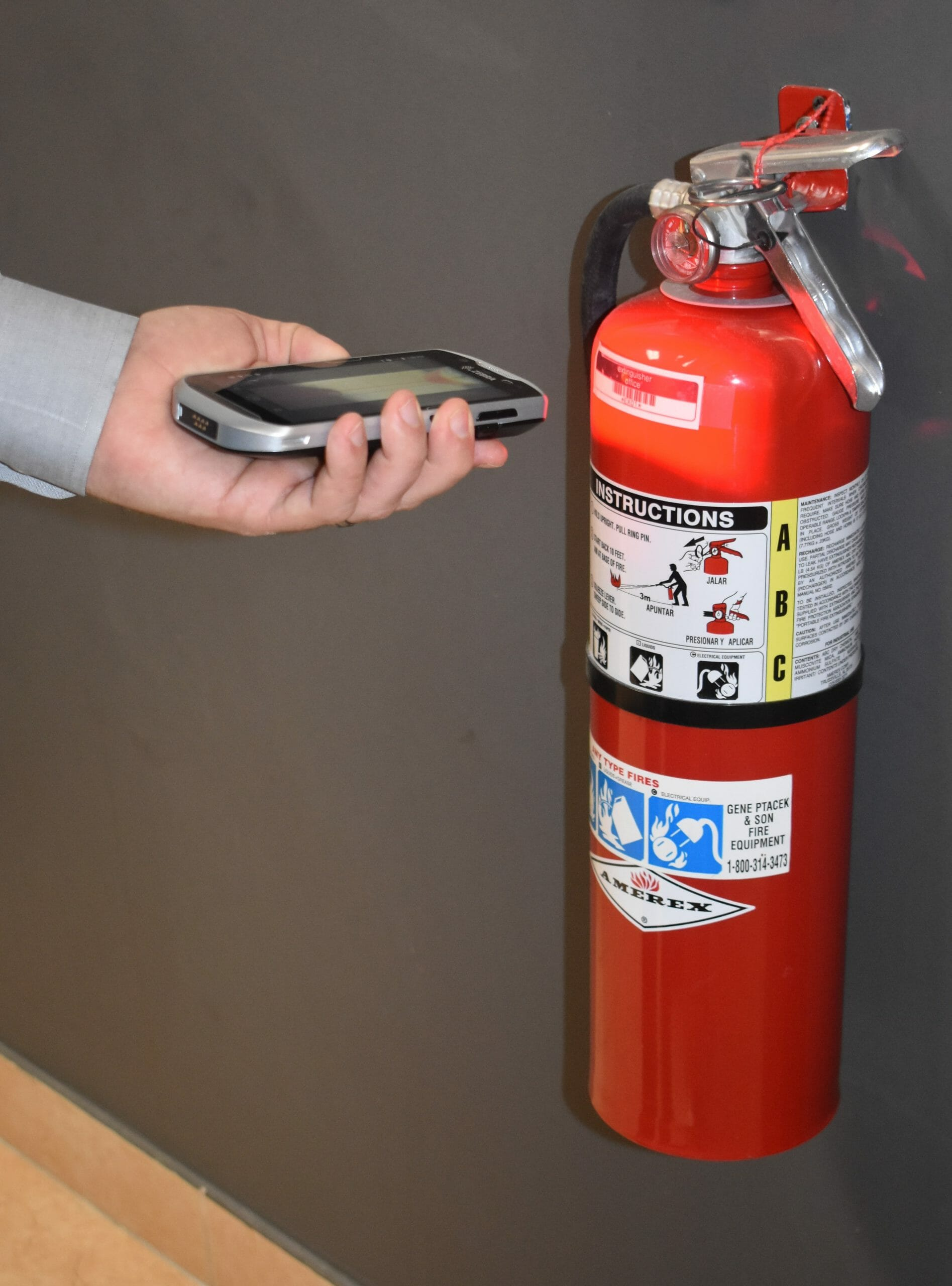 inspection software fire extinguisher